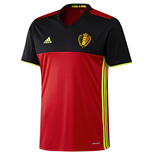 T-Shirt Belgien Fussball 2016-2017 Home