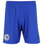 Shorts Bosnien Fussball 2016-2017 Home (Blau)