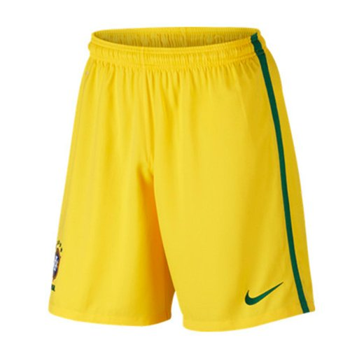 Shorts Brasilien Fussball 2016-2017 Home (Gelb) - Kids