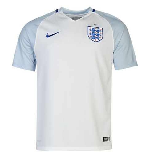 T-Shirt England Fussball 2016-2017 Home Nike fur Kinder