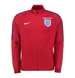 Jacke England Fussball 2016-2017 Nike Authentic Revolution Knit Track (Rot)