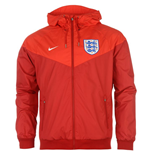 Jacke England Fussball 2016-2017 Nike Authentic Windrunner (Rot)