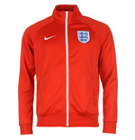 Jacke England Fussball 2016-2017 Nike Core Trainer (Rot)