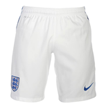 Shorts England Fussball 2016-2017 Nike Home (Weiss) fur Kinder