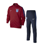 Trainingsanzug England Fussball 2016-2017  Nike Knit (Rot) fur Kinder