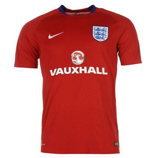 Trikot England Fussball 2016 2017 Nike Rot Fur Kinder