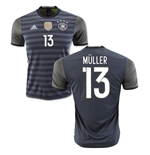Trikot Deutschland Fussball 2016-2017 Away (Muller 13) fur Kinder
