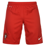 Shorts Portugal Fussball 2016-2017 Home Nike (Rot)