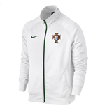 Jacke Portugal Fussball 2016-2017 Nike Core Trainer(Weiss)