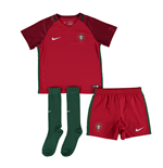 Set Portugal Fussball 2016-2017 Home Nike fur Kinder