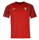 Trikot Portugal Fussball 2016-2017 Home Nike
