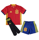 Mini Set Spanien Fussball 2016-2017 Home Adidas
