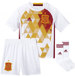 Set Spanien Fussball 2016-2017 Away Adidas fur Kinder