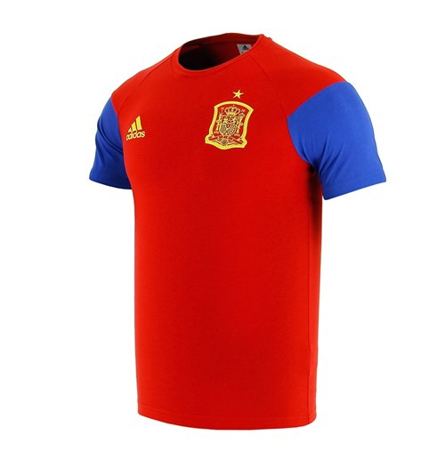Trikot Spanien Fussball 2016-2017 (Rot) Training