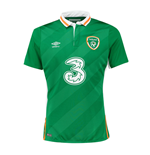 Trikot Irland Fussball 2016-2017 Umbro Home
