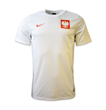 Trikot Polen Fussball 2016-2017 Home Nike Supporters