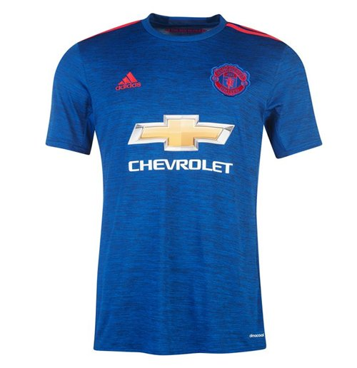 Trikot Manchester United FC 2016-2017 Adidas Away fur Kinder