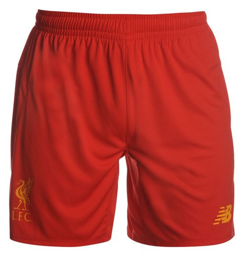 Shorts Liverpool FC 2016-2017 Home (Rot)