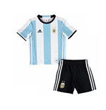 Set Argentinien Fussball 2016-2017 Adidas Home fur Kinder