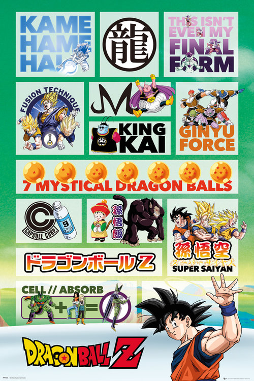 Poster Dragon ball 212425