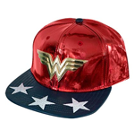 Kappe Wonder Woman Shiny Logo