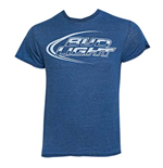 T-Shirt Bud Light in blau