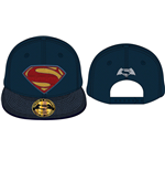 Batman v Superman Dawn of Justice Baseball Cap Superman Logo