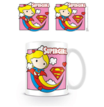 Justice League Tasse Chibi Supergirl Pink