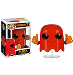 Pac-Man POP! Games Vinyl Figur Blinky 8 cm