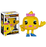 Pac-Man POP! Games Vinyl Figur Ms. Pac-Man 8 cm