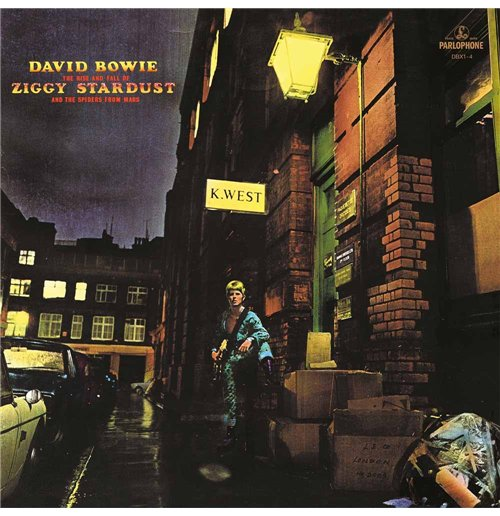 Vinyl David Bowie - The Rise and Fall Of Ziggy Stardust And The Spiders From Mars (2012 Remastered Version)