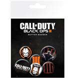Brosche Call Of Duty Set Black Ops 3 - Mix