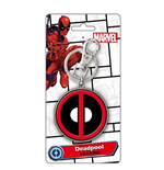 Schlüsselring Deadpool - Logo Colour Pewter