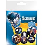 Brosche Doctor Who  213713