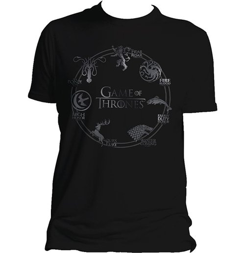 T-Shirt Game of Thrones  (Game of Thrones) - Round Sigil