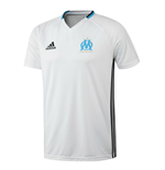 T-Shirt Olympique Marseille 2016-2017 Adidas (Weiss)