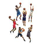 NBA Basketball Actionfiguren 15 cm Serie 28 Sortiment (8)