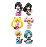Sailor Moon Petit Chara Land Sammelfiguren 6 cm Ice Cream Party Sortiment (6)