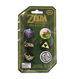 Legend of Zelda Ansteck-Buttons 6er-Pack