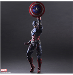 Marvel Comics Variant Play Arts Kai Actionfigur Captain America 27 cm