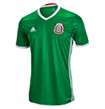 Trikot Mexiko Fussball 2016-2017 Adidas  Home