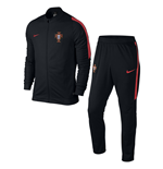 Trainingsanzug Portugal Fussball 2016-2017 Nike Revolution Knit (Schwarz)