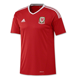 Trikot Wales Fußball 2016-2017 Home