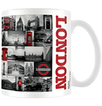 Tasse London - Red Collage