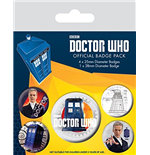 Brosche Doctor Who  218408