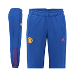 Trainingshose Man Utd Adidas 3S  2016-2017 (Royal blau)