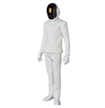 Daft Punk RAH Actionfigur 1/6 Guy-Manuel de Homem-Christo White Suit Ver. 30 cm