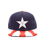 Captain America Civil War Snap Back Hip Hop Cap Logo