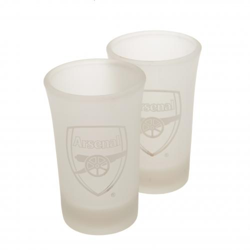 Glas Arsenal F.C. Set 2 Schot Glasser