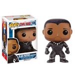 Captain America Civil War POP! Vinyl Wackelkopf Black Panther (Unmasked) 9 cm